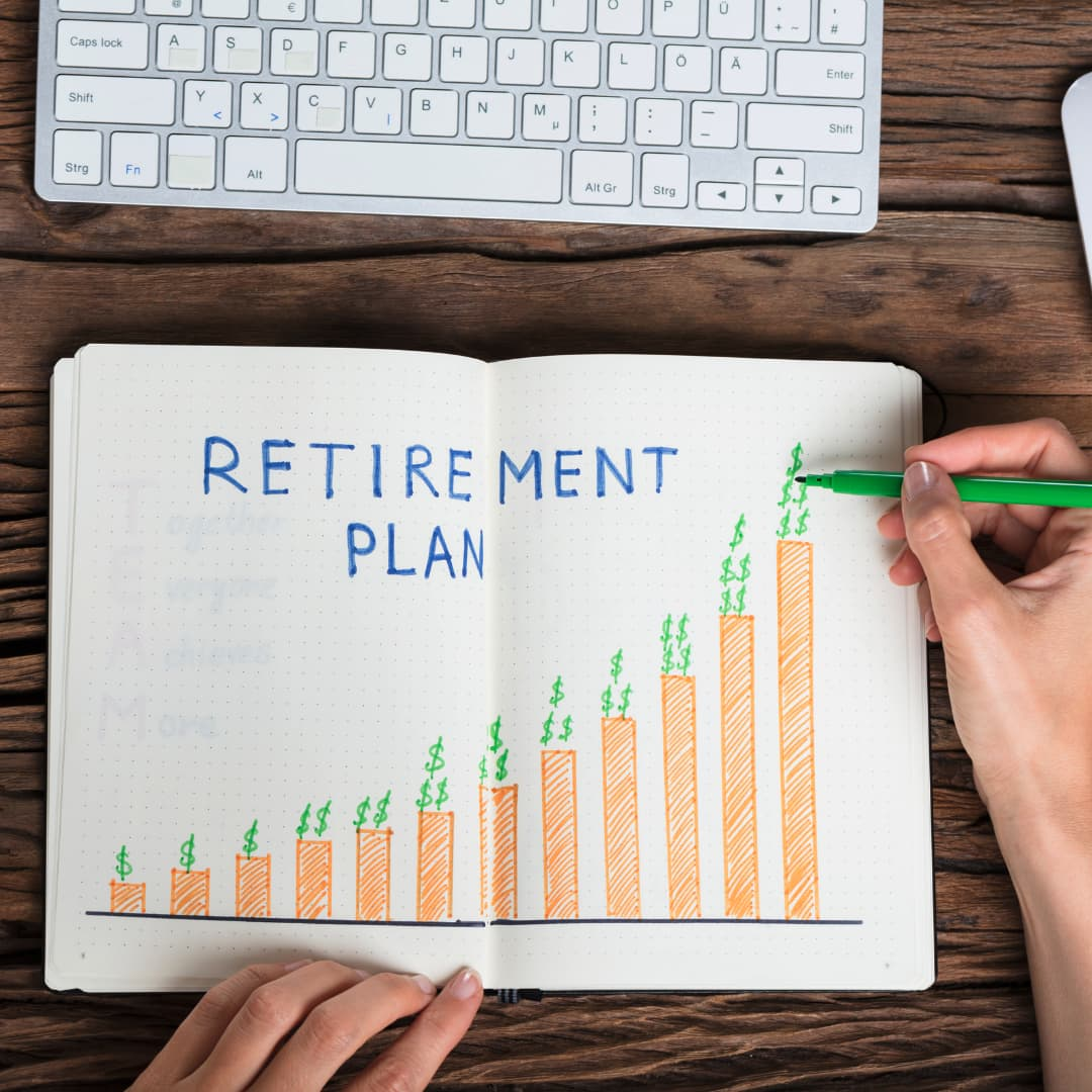 Retirement planning with V Corp